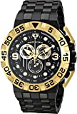 Swiss Legend Men's 10125-BB-11-GA Challenger Analog Display Swiss Quartz Black Watch
