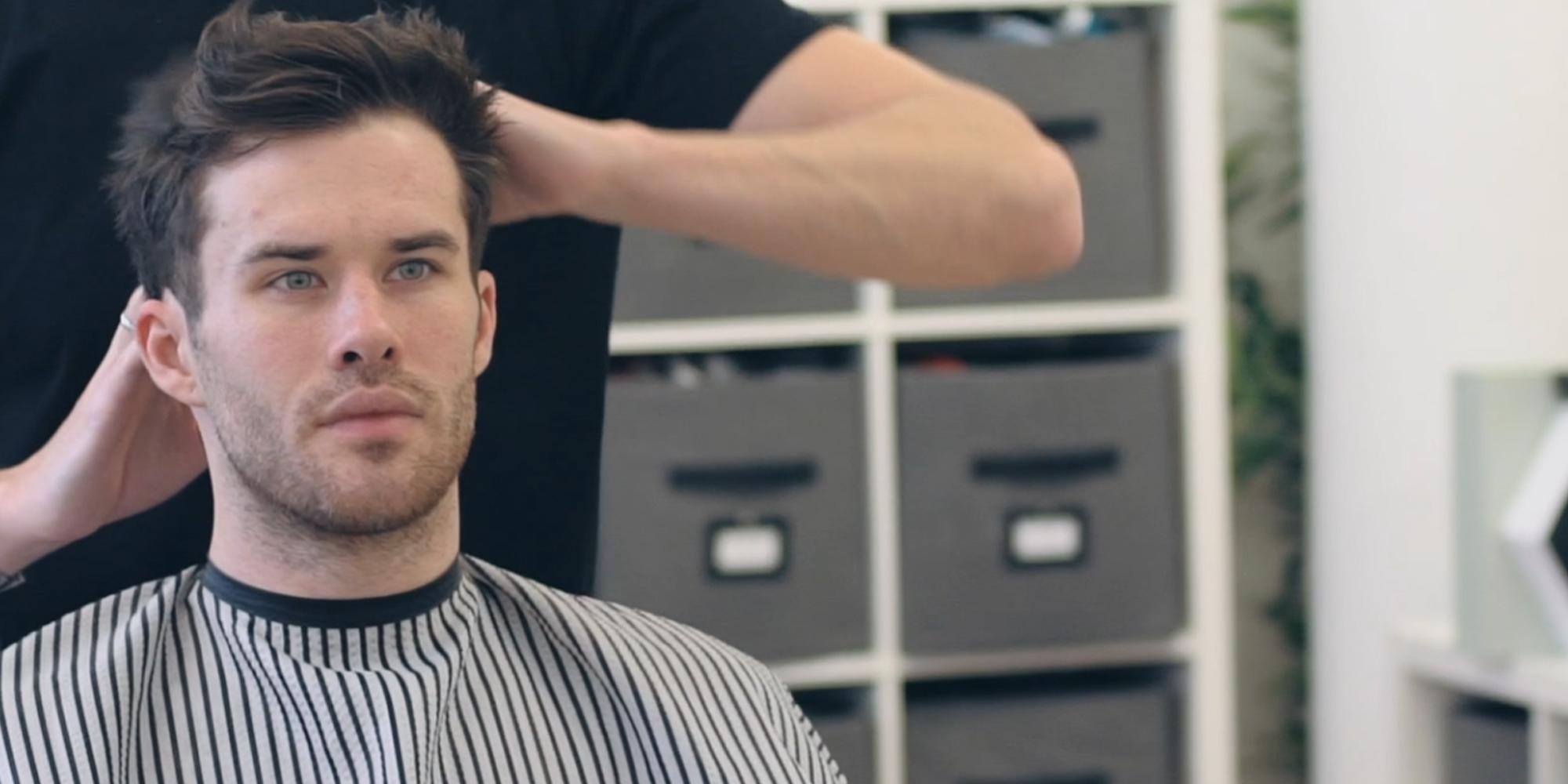 Hanz de Fuko Claymation- Premium Mens Hair Styling Clay with Matte Finish (2 oz) Cruelty Free 7