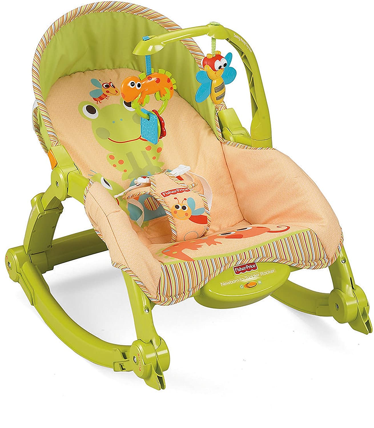 Fisher-Price Newborn-to-Toddler Portable Rocker by Fisher-Price: Amazon.es: Bebé