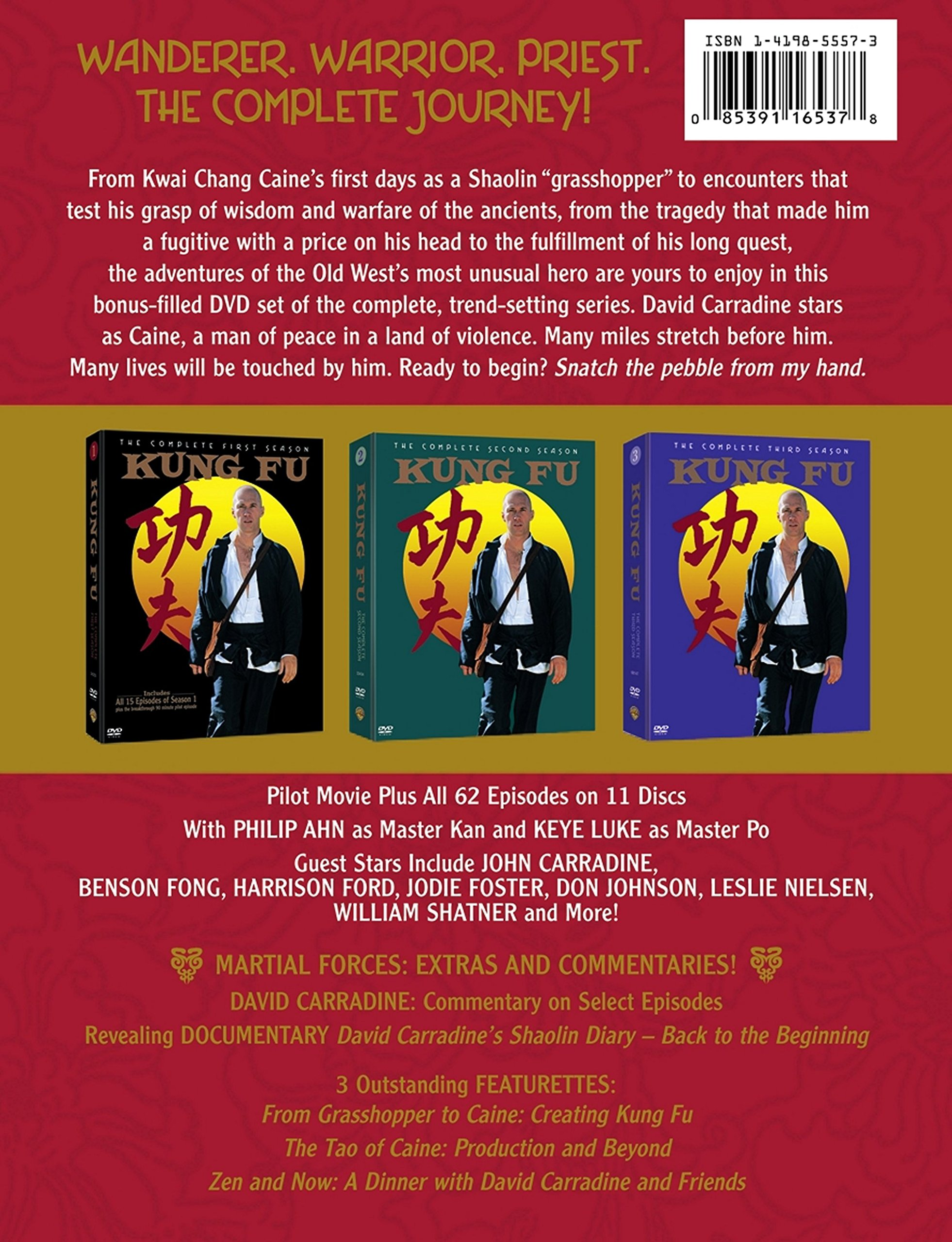 Kung Fu: The Complete Series by Warner Manufacturing