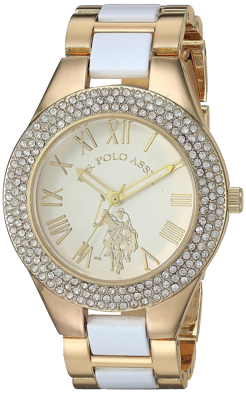 U.S. Polo Assn. Womens Analog-Quartz Watch with Alloy Strap ...