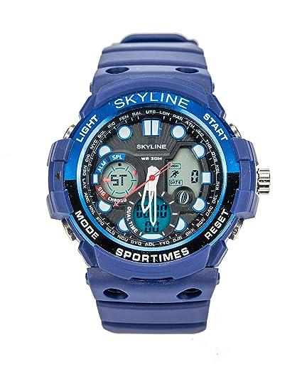 Reloj Skyline Militar Azul 2018