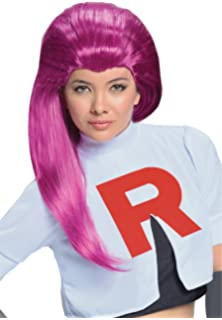 Pokèmon Jessie Team Rocket Dress Costume Adult Small: Amazon ...