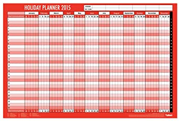 office holiday planner template