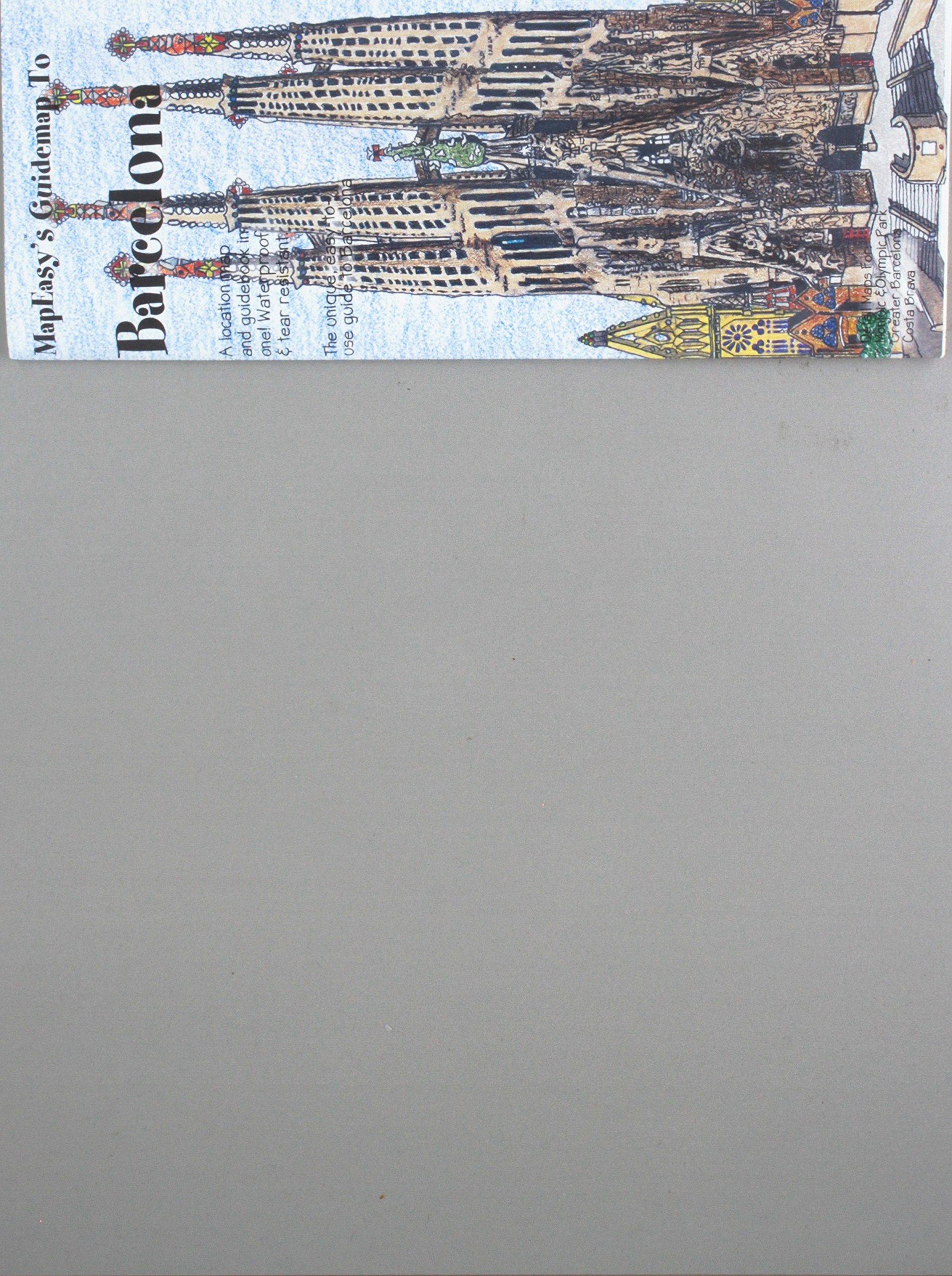 Amazon.com: MapEasys Guidemap to Barcelona (9781929038213 ...