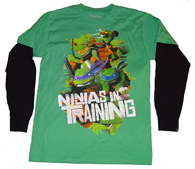 Amazon.com: Teenage Mutant Ninja Turtles Boys Shirt Xl (14 ...