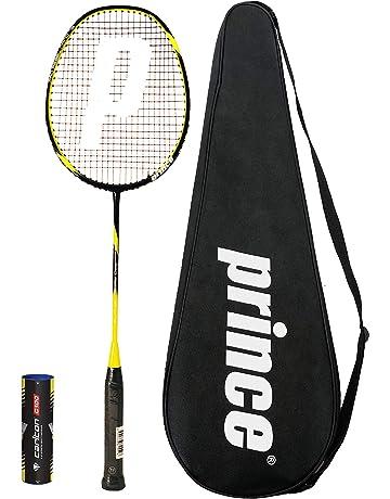 manecillas para ca/ña de Pescar JIeGuanG Juego de 4 Raquetas de b/ádminton Antideslizantes de Repuesto para Raqueta de Tenis Color Negro y Azul