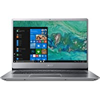 "Acer Swift 3 SF314-54-59UX Notebook con Processore Intel Core i5-8250U, RAM da 8 GB, 256 GB SSD, Display da 14"" Full HD IPS LED LCD, Scheda grafica Intel UHD 620, Windows 10 Home, Silver"