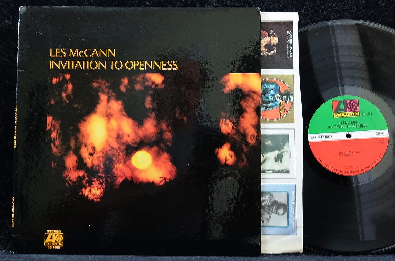 Les Mccann Invitation To Openness Usa 1st Pressing Vinyl Lp