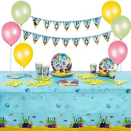 Amazon.com: Paquete de suministros para fiesta de cumpleaños ...