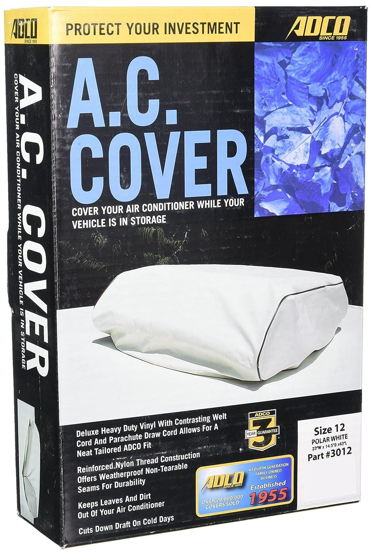 ADCO 3012 White Size 12 RV Air Conditioner Cover