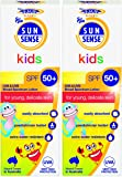 SunSense Kids Roll On with SPF50 and Sunscreen 50ml - (pack of 2)