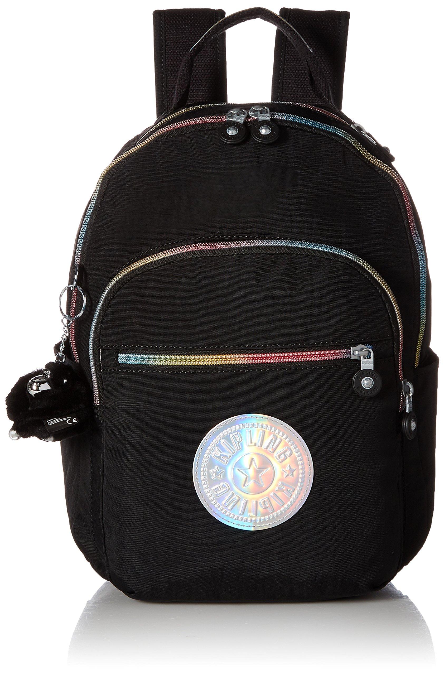 Kipling Women's Seoul Go S Black Hologram Backpack