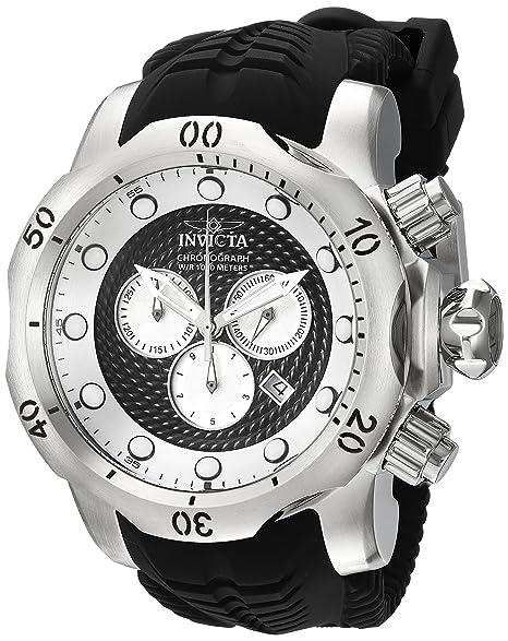 INVICTA VENOM RELOJ DE HOMBRE CUARZO SUIZO 53MM CORREA DE POLIURETANO 20439: Amazon.es: Relojes