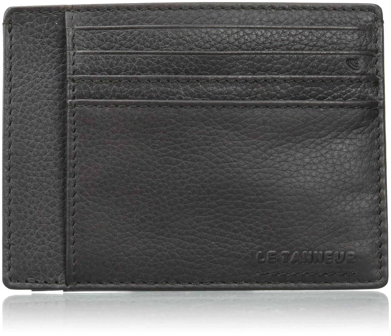 1x9x12 cm W x H x L Le Tanneur Porte-cartes Marius anti RFID TRZ3409,