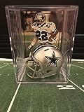 Dallas Cowboys NFL Helmet Shadowbox w/ Emmitt Smith