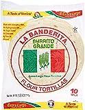 La Banderita Burrito Large Flour Tortilla, 25 oz