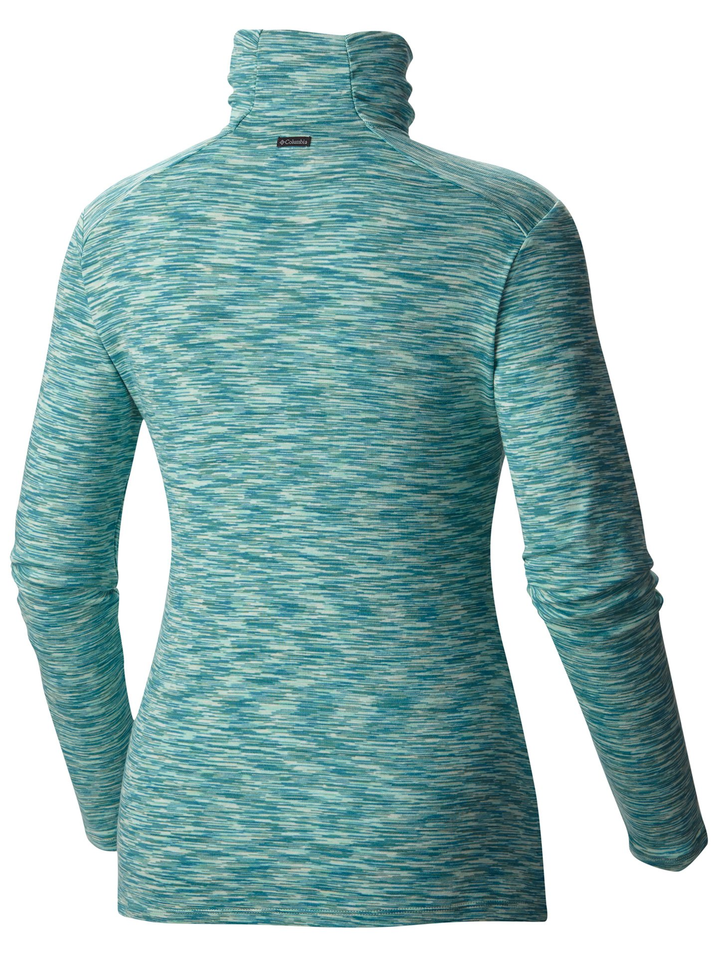 Columbia Women's Outer Spaced Half Zip, Dusty Green, Large by Columbia (Image #2)