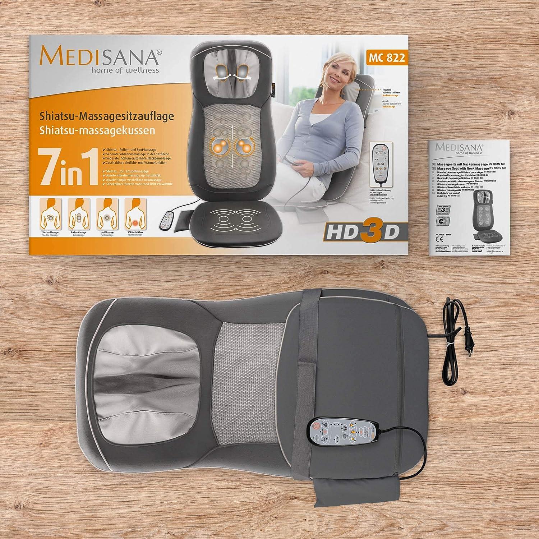 Medisana Shiatsu Massage Seat Mc 822 Device Vibration Massage For
