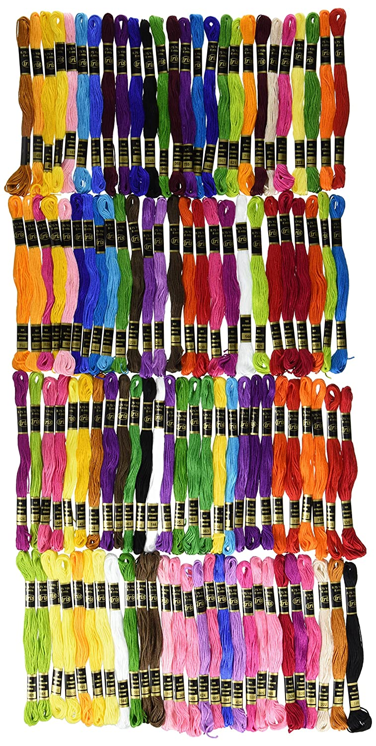 Iris 1265 105-Pack Embroidery Giant Floss Pack, 8m Notions - In Network