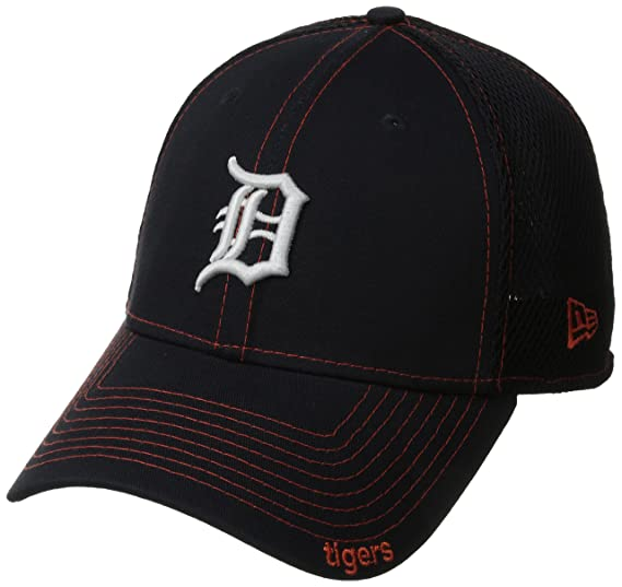 super cute 1e954 51ec6 Detroit Tigers Navy 39THIRTY Neo Stretch Fit Hat