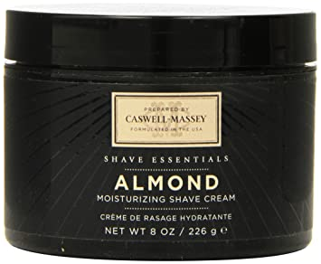 f0136b07f79 Amazon.com: Caswell-Massey Almond Soothing Shave Cream – All Natural  Shaving Cream Made In USA - 8 oz Jar: Beauty