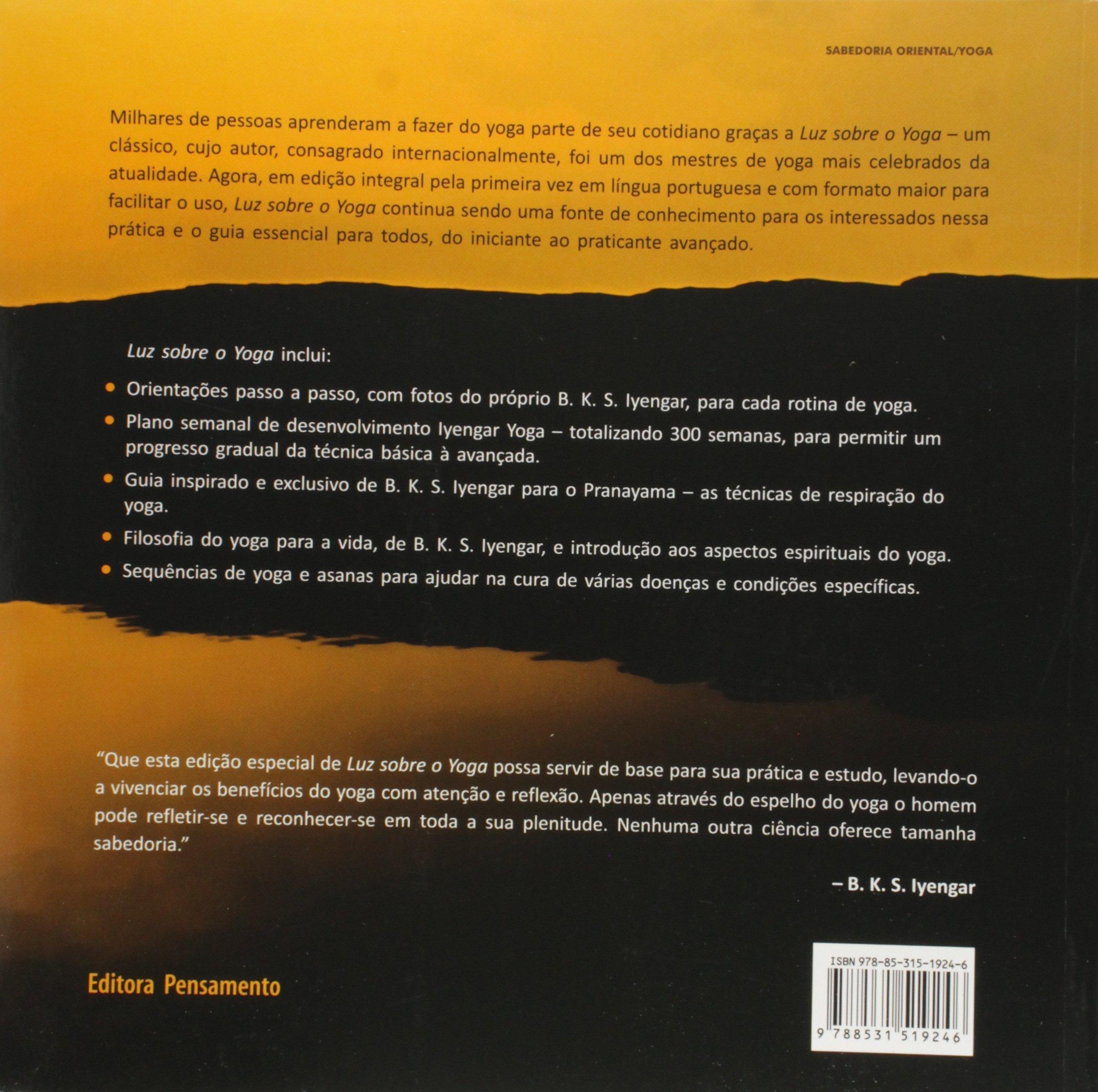 Luz Sobre o Yoga (Em Portuguese do Brasil): Amazon.es ...