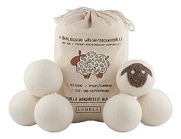 Lahela trocknerbälle er pack ideal als natürliche alternative