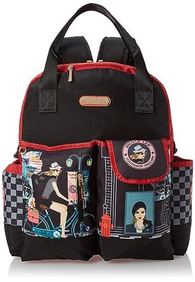 Amazon.com  Nicole Lee Women s Baby Diaper Bag Multi-Functional ... ee3710045d