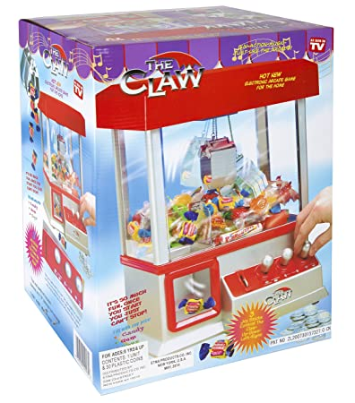 Amazon.com: The Electronic Claw Game: Toys & Games