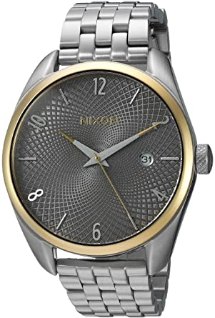 b5bddec4494 Image Unavailable. Image not available for. Color  Nixon Women s  Bullet  Quartz  Metal and Stainless Steel Watch