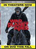 War For The Planet Of The Apes (Bilingual) [DVD + Digital Copy]