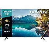 "Hisense 75R6000GM Serie R6 75"" 4K Uhd, Smart TV, Roku TV, Hdr10, Roku Search, (2020) (75"")"