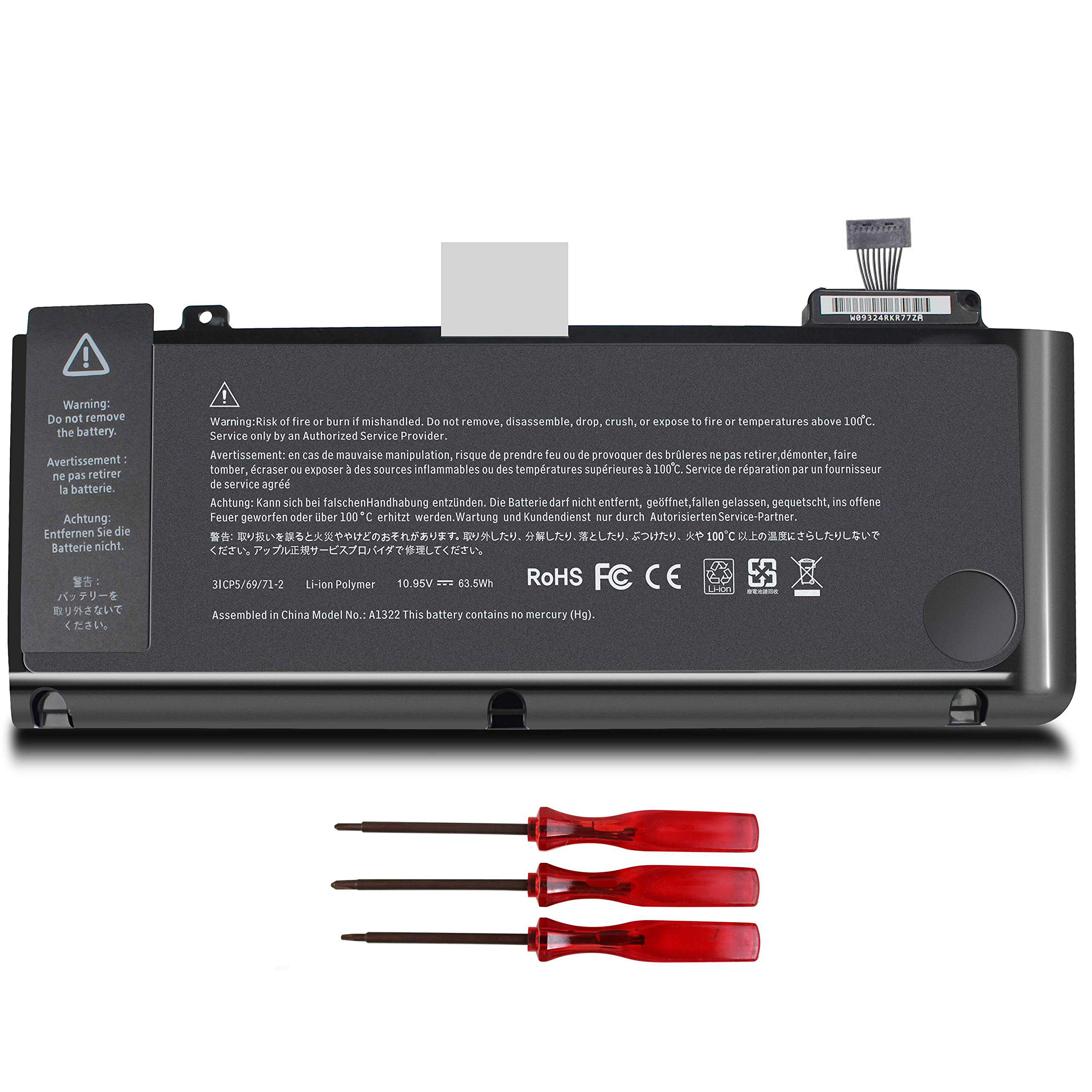 Bateria A1322 A1278 MacBook 13 2009 2010 2011 2012 Version M