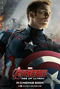 Avengers: Age of Ultron, CAPTAIN AMERICA (2015) Movie Poster 24x36 , Glossy Finish (Thick): Iron Man, Black Widow, Thor, Captain America