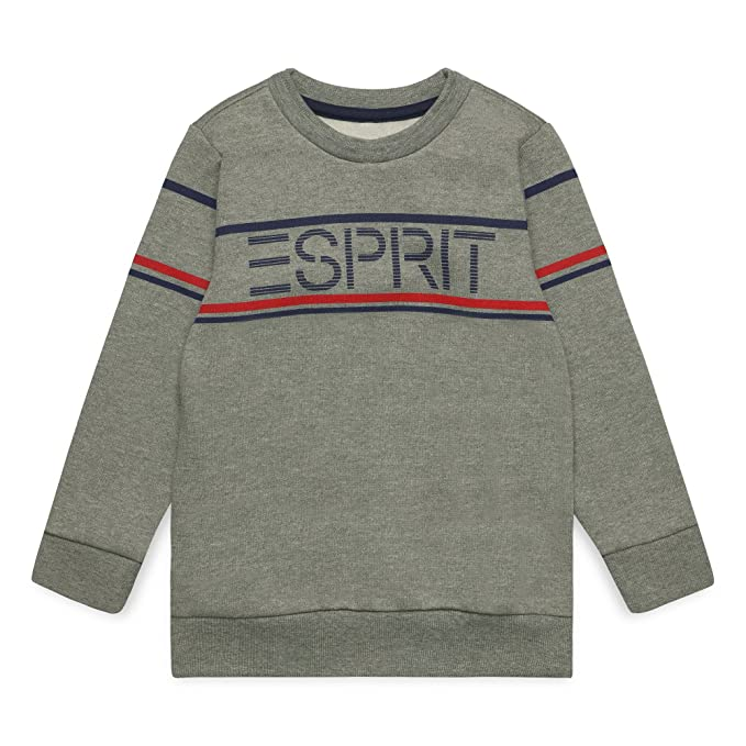 Esprit Kids Kids Sweat Shirt For Boy, Sudadera Niños, Gris (Dark Heather Grey