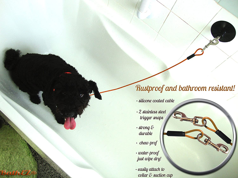 BathEz - Tubo de baño para Perro con Ventosa y Cuello de Alto Rendimiento: Amazon.es: Productos para mascotas