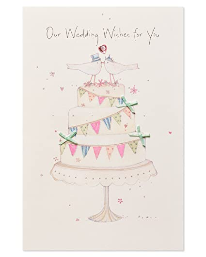 Wedding Card Wishes.American Greetings Wedding Wishes Wedding Card With