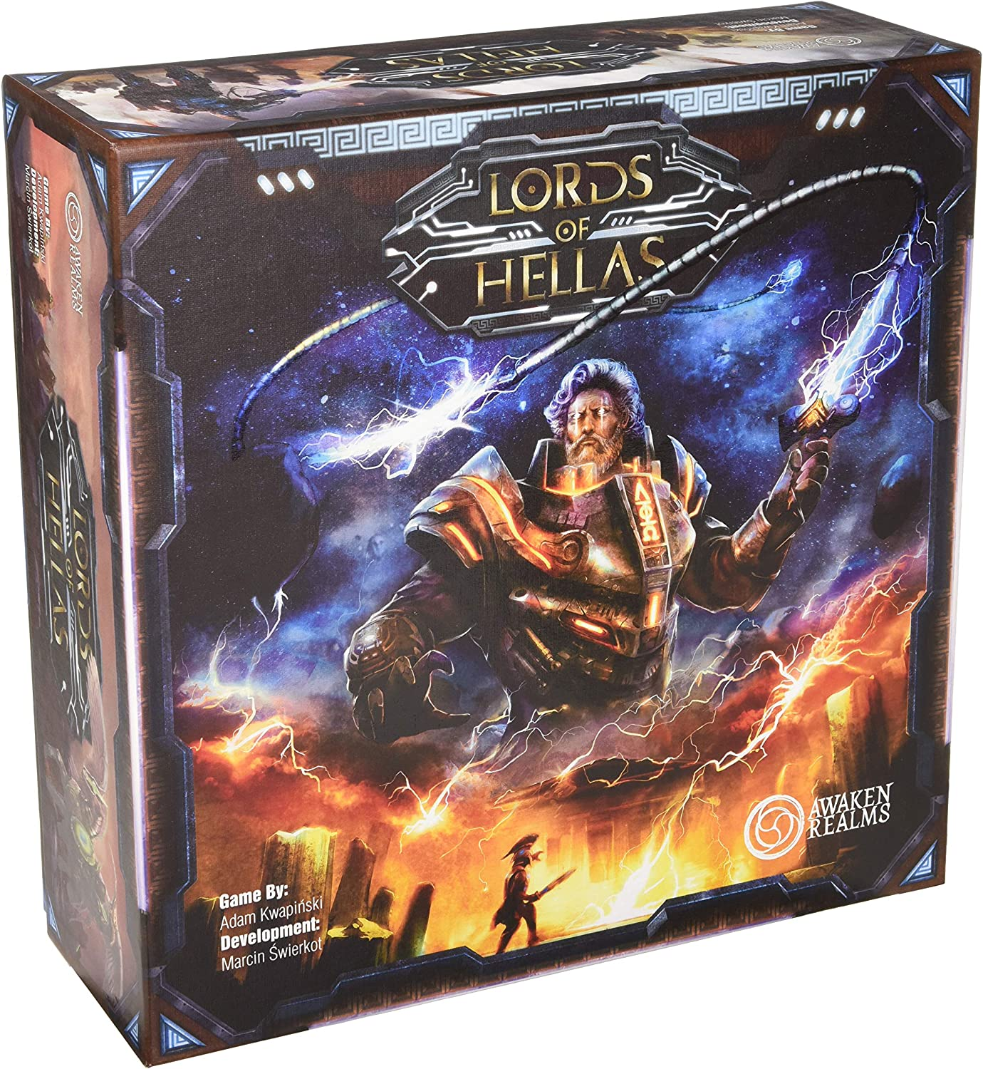 Awaken Realms ARLOH001 Lords of Hellas - Juego de mesa, multicolor , color/modelo surtido: Amazon.es: Juguetes y juegos