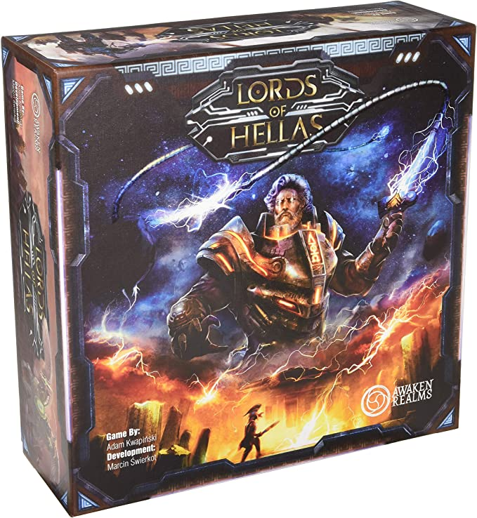 Awaken Realms ARLOH001 Lords of Hellas - Juego de Mesa: Amazon.es ...
