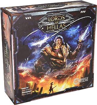 Awaken Realms ARLOH001 Lords of Hellas - Juego de Mesa: Amazon.es ...