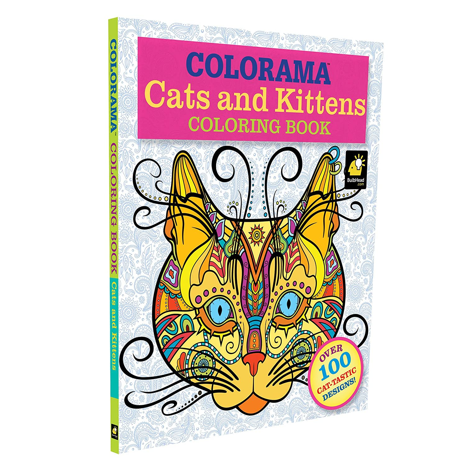 Amazon Colorama Cats Kittens Coloring Pages For Adults And Kids Toys Games