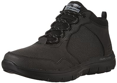 Skechers Men's Flex Advantage 2.0 High Key Boots Black 8.5 D(M) US