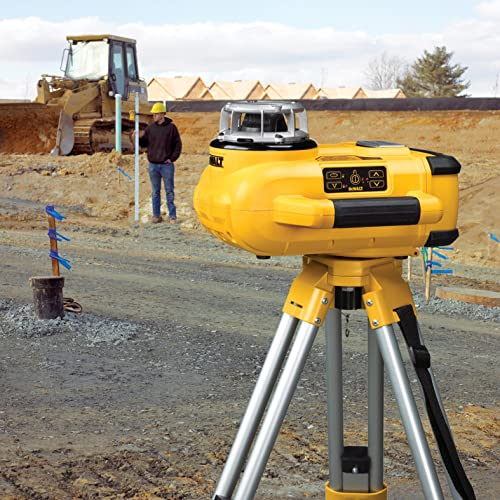 DEWALT DW079KD Rotary Laser Level With Tripod