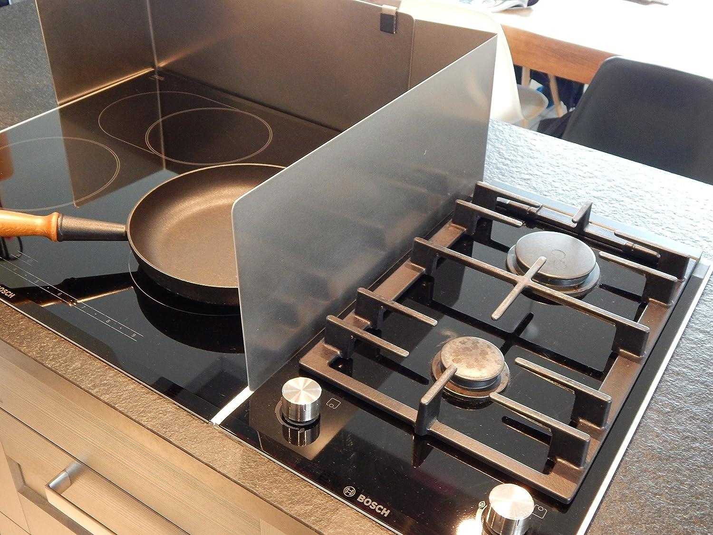 Haushalts-Butler der Flexible Spritzschutz für Ihre Kochinsel - für ...