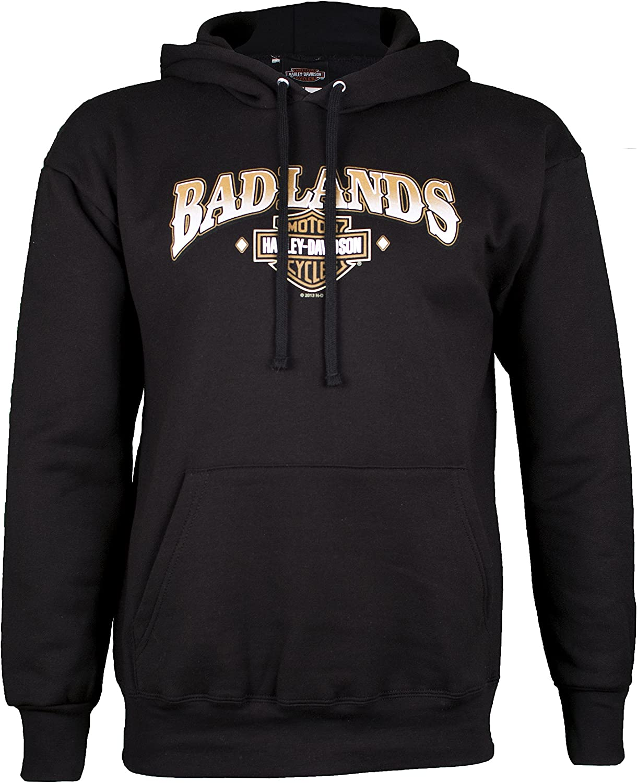 Genuine Harley-Davidson Men's Bar /& Shield Logo Hoodie Sweatshirt 99003-16VM