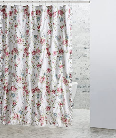 Europa Collection Roslyn Shower Curtain 72 x 72 Multicolor