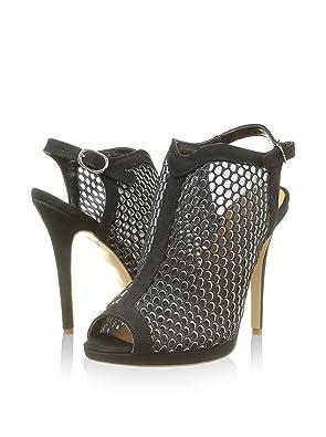 55fbf65444d3 Settesere Chaussures de Talon Ouvert Noir EU 39  Amazon.fr  Chaussures et  Sacs