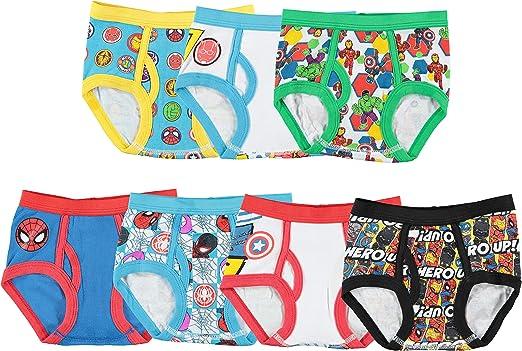 Avengers Boys Boxers Pack of 4 Kids Underwear