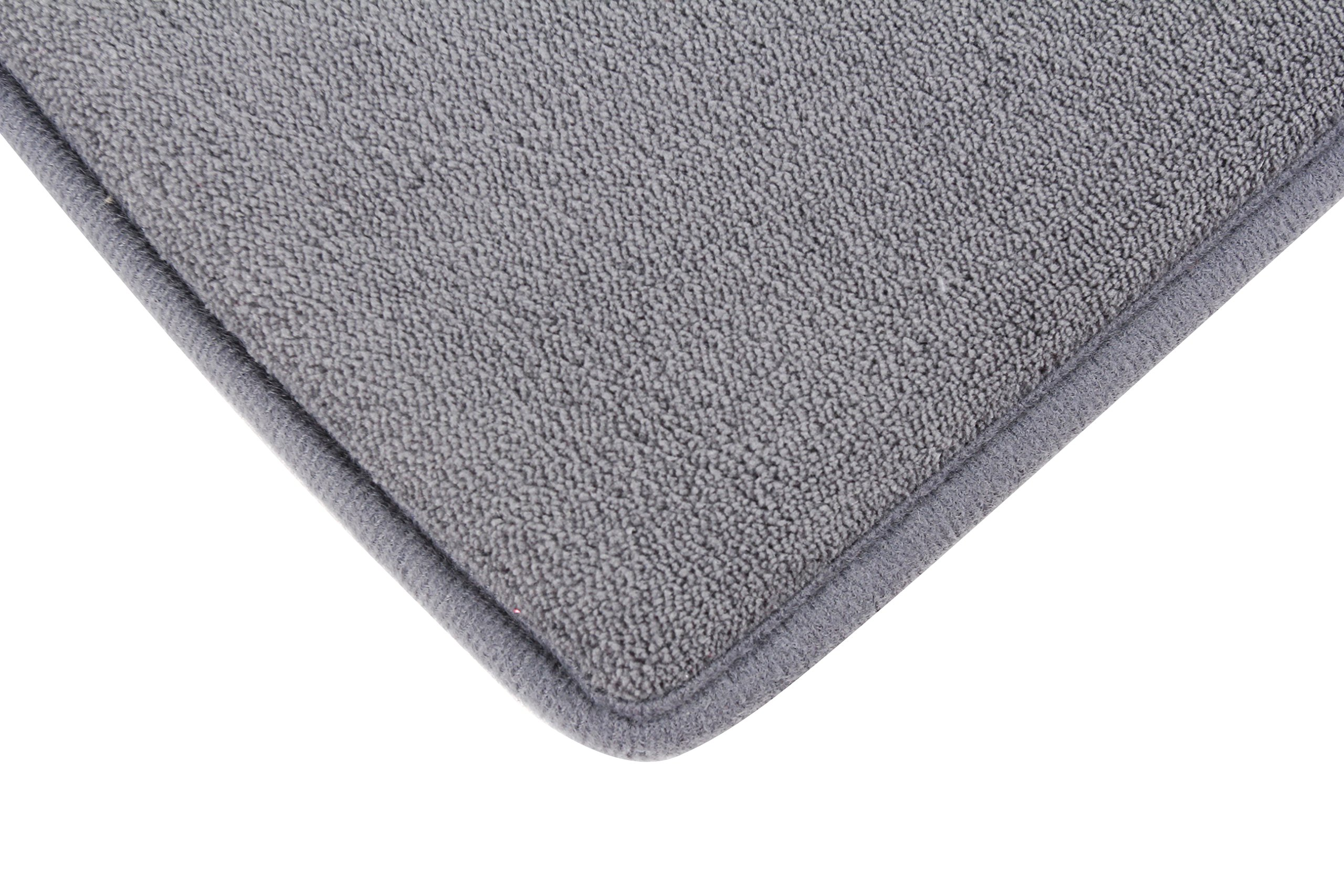 Fabbrica Home Ultra-Soft HD Memory Foam Runner (2 ft x 7.5 ft, Gray) by Fabbrica Home (Image #4)